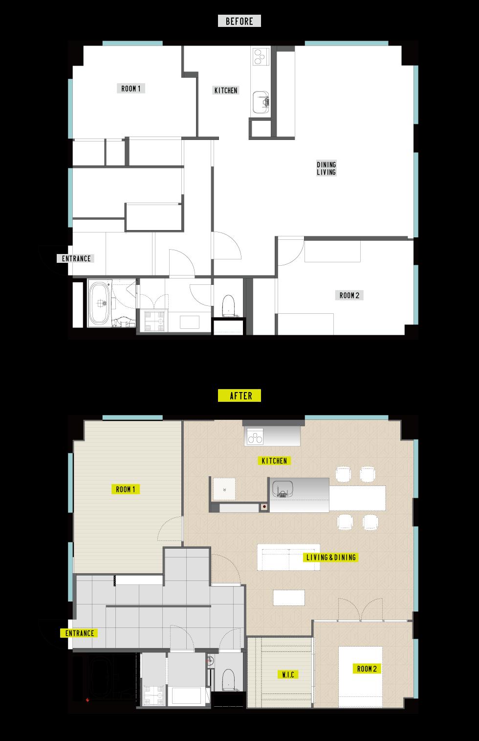 福岡市中央区N様邸マンションリノベーション