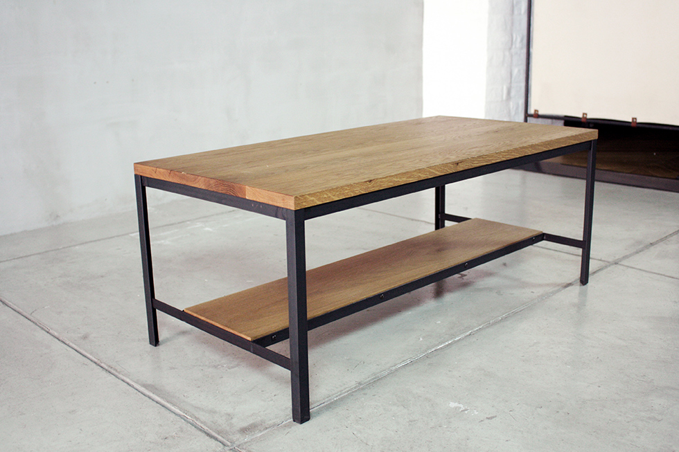 LS LOW TABLE 棚板付き(オプション)